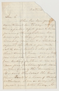 BURNING OF CHAMBERSBURG, PA - JULY 30, 1864 / CIVILIAN CORRESPONDENCE