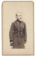 STANDING VIEW CDV OF MAJOR GENERAL DAVID B. BIRNEY