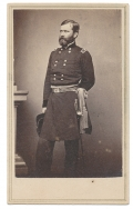 STANDING CDV OF MAJOR GENERAL WILLIAM B. FRANKLIN