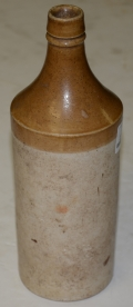 STONEWARE ALE BOTTLE