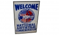 WELCOME BANNER FROM NATIONAL ANTIETAM COMMEMORATION, 1937