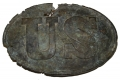 RELIC US PATTERN 1839 BELT PLATE – FROM FIRE PIT