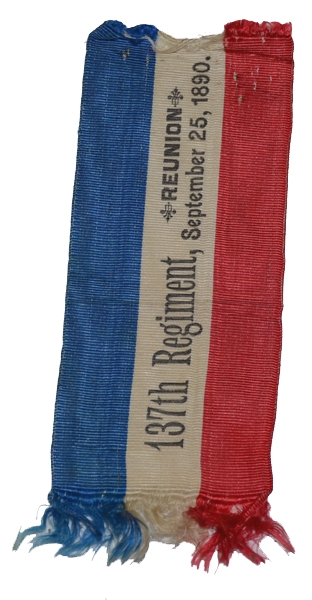 RIBBON FOR 137TH NEW YORK REUNION