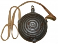 MAKER MARKED PHILADELPHIA DEPOT BULLSEYE CANTEEN & SLING WITH PARTIAL ID