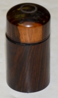 CIVIL WAR PERIOD ROSEWOOD INK WELL