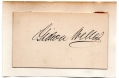 SELECTION OF SIGNATURES - PRESIDENT LINCOLN'S CABINET MEMBERS