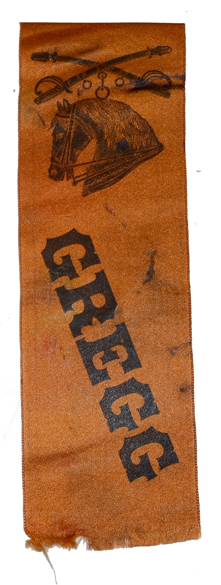 REUNION RIBBON FROM GREGG'S CAVALRY