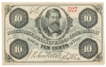SCOTT'S NINE HUNDRED UNITED STATES CAVALRY 10 CENT SCRIP NOTE
