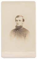 BUST VIEW CDV OF 15TH PENNSYLVANIA CAVALRY SOLDIER