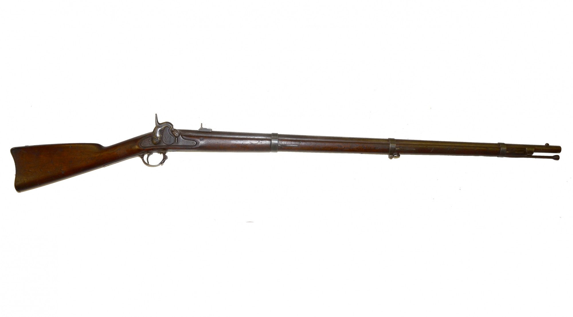 SPRINGFIELD MODEL 1855 US PERCUSSION RIFLE-MUSKET DATED 1860