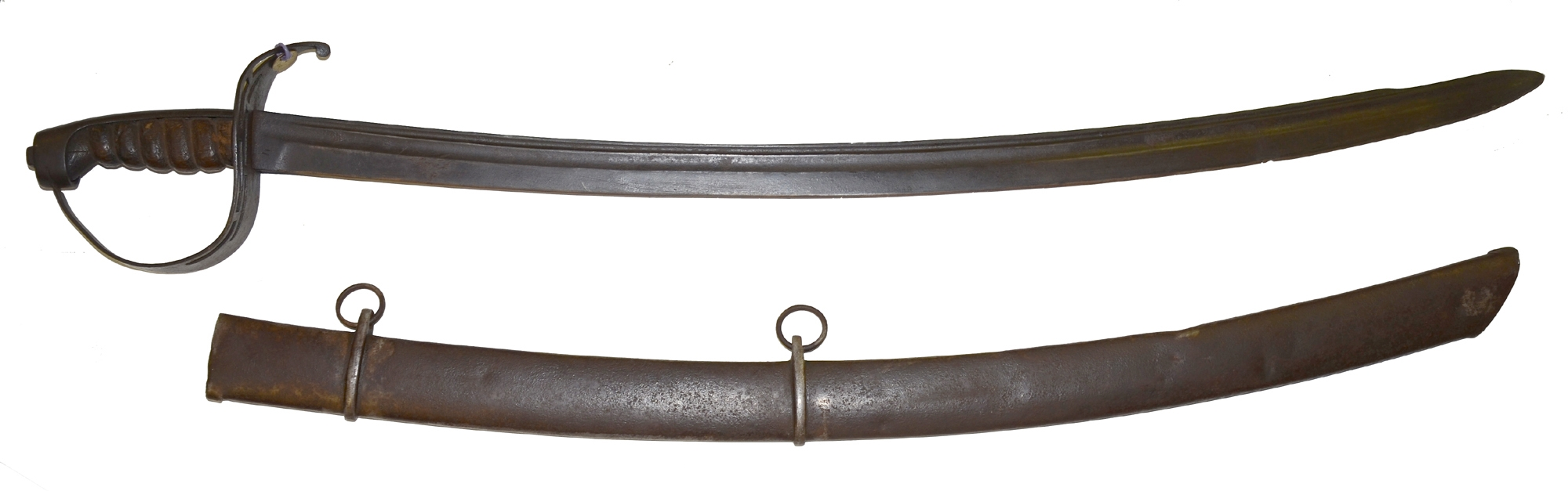 FIRST MODEL VIRGINIA MANUFACTORY CAVALRY SWORD WITH SCABBARD