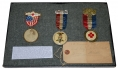GROUP OF VETERAN'S BADGES IDENTIFIED TO 2ND NEW JERSEY SOLDIER
