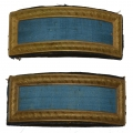 PAIR OF SMITH PATENT 2ND LIEUTENANT OF INFANTRY SHOULDER STRAPS