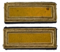 PAIR OF SMITH PATENT 2ND LIEUTENANT OF CAVALRY SHOULDER STRAPS