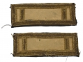 PAIR OF 1ST LIEUTENANT OF CAVALRY SHOULDER STRAPS