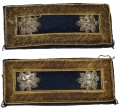PAIR OF INDIAN WAR LIEUTENANT COLONEL OF STAFF SHOULDER STRAPS
