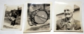THREE POST-WAR PHOTOS OF 145TH OHIO DRUMMER