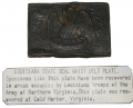 RELIC LOUISIANA RECTANGULAR BELT PLATE