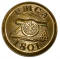 RHODE ISLAND: PROVIDENCE MARINE CORPS OF ARTILLERY COAT SIZE BUTTON, RI29A