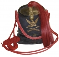 WARTIME CONTRACTOR MARKED 1864 PATTERN LIGHT ARTILLERY SHAKO