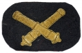 LARGE CIVIL WAR OFFICER'S ARTILLERY HAT INSIGNIA