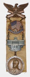 53RD NATIONAL ENCAMPMENT GAR BADGE 1919