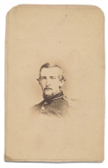 CDV BUST IMAGE OF 90TH PENNSYLVANIA SOLDIER