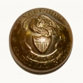 NEW YORK STATE NATIONAL GUARD ARTILLERY COAT BUTTON