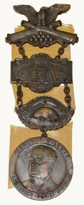57TH NATIONAL ENCAMPMENT GAR BADGE 1923