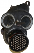 WORLD WAR TWO BRITISH AIR RAID GAS MASK FOR CIVILIANS