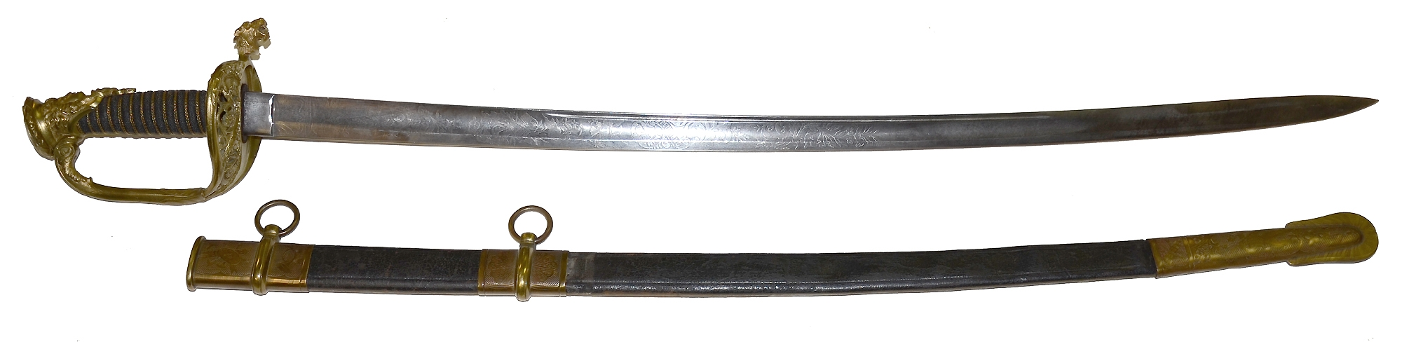 NON-REGULATION M1850 FOOT OFFICER'S SWORD — Horse Soldier