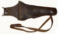 US MARINE CORPS MODEL 1912 DISMOUNTED HOLSTER FOR THE COLT .45 AUTOMATIC COMPLETE WITH LEG STRAP