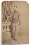 FULL STANDING CDV OF 90TH PENNSYLVANIA COMMISSARY SERGEANT