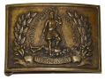 VIRGINIA RECTANGULAR WAIST BELT PLATE