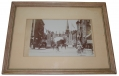 FRAMED PHOTO OF A GAR ENCAMPMENT DECORATIVE ARCH IN BUFFALO, NEW YORK