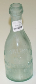 MINERAL WATER BOTTLE BY HASSINGER & O'BRIEN
