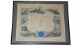 GAR MEMBERSHIP SCROLL, NAVAL POST. 400, DEPARTMENT OF PENNSYLVANIA — ADMIRAL DAVID D. PORTER