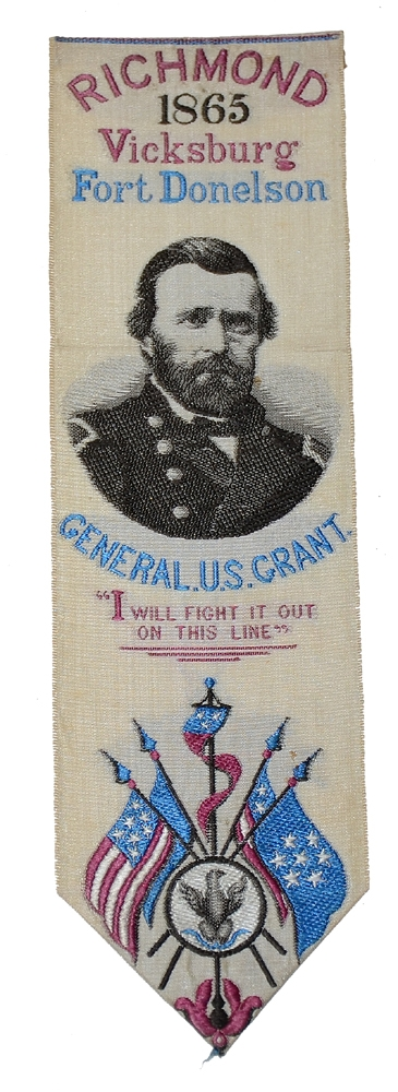 GENERAL GRANT STEVENSGRAPH – RICHMOND, VICKSBURG AND FORT DONELSON