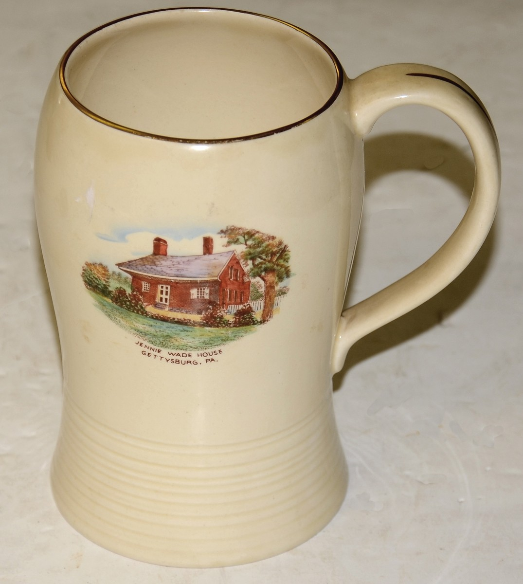 JENNY WADE HOUSE SOUVENIR BEER STEIN