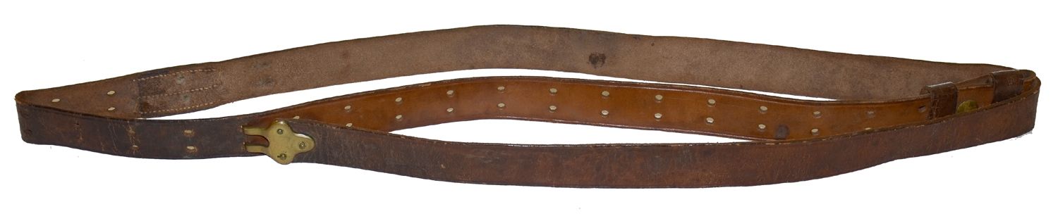LEATHER SLING FOR A 50/70 RIFLE