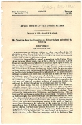 RETIREMENT OF LT. COLONEL ALEXANDER WEBB-CONGRESSIONAL REPORT N.158, 54TH CONGRESS 1ST SESSION, FEB. 4, 1896