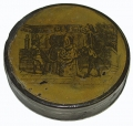 PAINTED SNUFF BOX