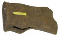 AXE HEAD RECOVERED FROM FORT REYNOLDS, NOVEMBER 1956