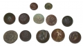 "COLLECTION OF DUG UNION AND CONFEDERATE BUTTONS - MISSISSIPPI ""I"""