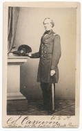 CDV OF COLONEL JAMES CAMERON, 79TH NEW YORK, KIA AT 1ST BULL RUN