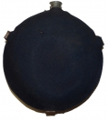 NEW YORK DEPOT SMOOTH SIDED CANTEEN WITH BLUE WOOL COVER
