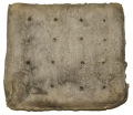 PIECE OF CIVIL WAR HARDTACK