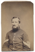 WAIST-UP CDV OF 90TH PENNSYLVANIA SOLDIER
