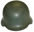 RECONDITIONED WORLD WAR TWO MODEL 1935 GERMAN HELMET SHELL
