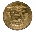 VERMONT MILITIA COAT BUTTON